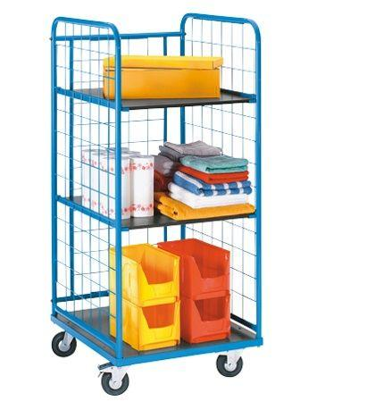 Тележка-стеллаж для перевозки и хранения белья, ТБ 123