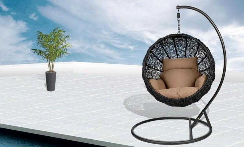 Подвесное кресло из полиротанга Swing
