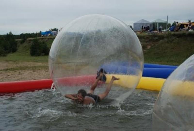 Аттракцион Водный шар