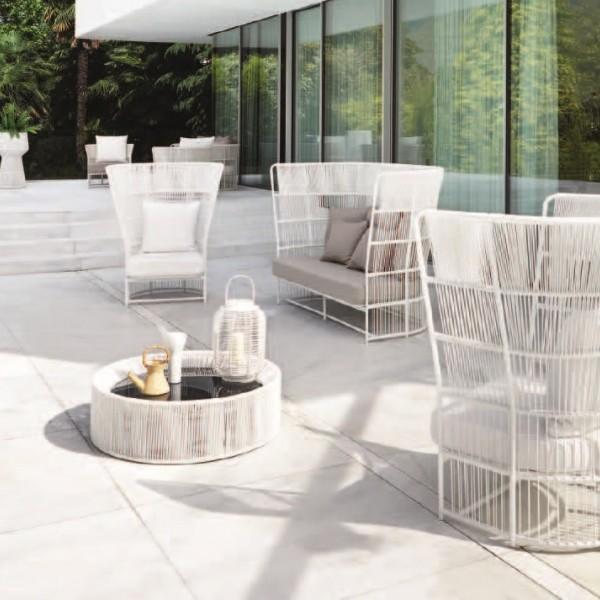 Плетеная мебель для лаунж зоны, отдыха, релакса