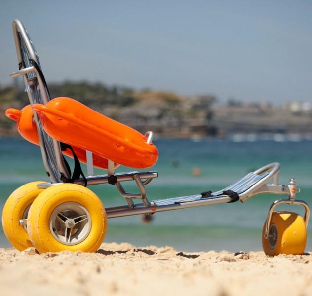 Кресло-коляска инвалидная пляжная BW-100 TRITON