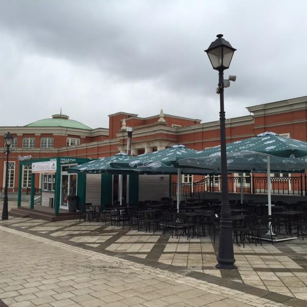 Зонты для уличных кафе производства Россия