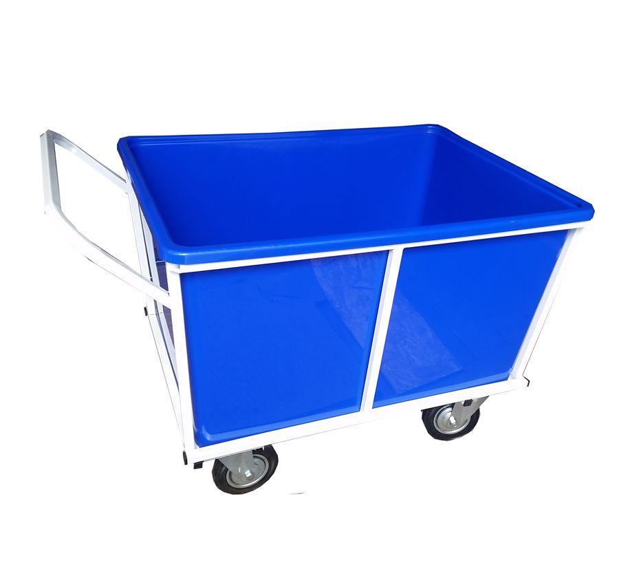 тележка для прачечной с пластиковым баком, ТП 27