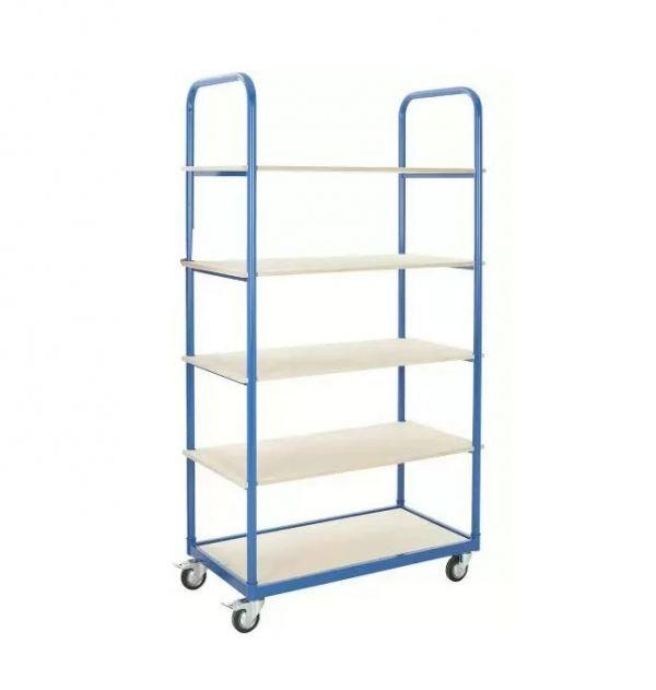 Тележка-стеллаж для перевозки и хранения белья, ТБ 125